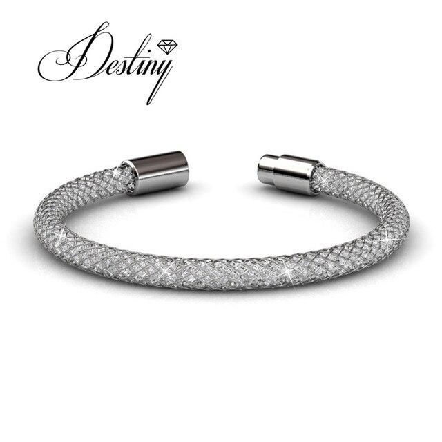 Destiny Jewellery 2017 Hot Crystals Bracelets Embellished With From Swarovski Bracelet Mesh Db0044