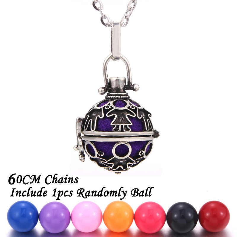 Новинка ароматерапия ювелирные изделия милый детский парфюм диффузор медальоны Арома эфирные масла для беременных женское ожерелье с подвеской подарок для детей