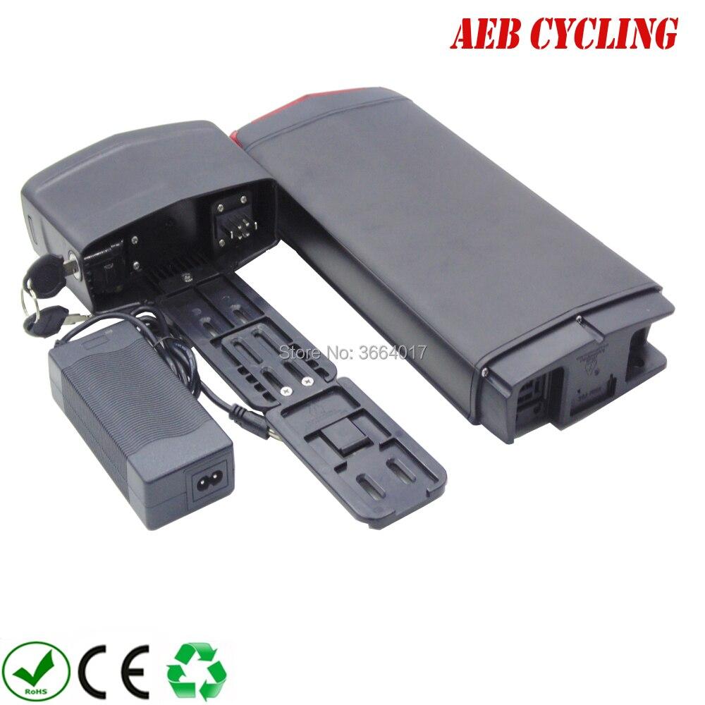 Livraison gratuite sans taxes à l'ue US 250 W-500 W batterie 36 V 13Ah Li-ion 18650 batterie rechargeable pour ebike avec chargeur