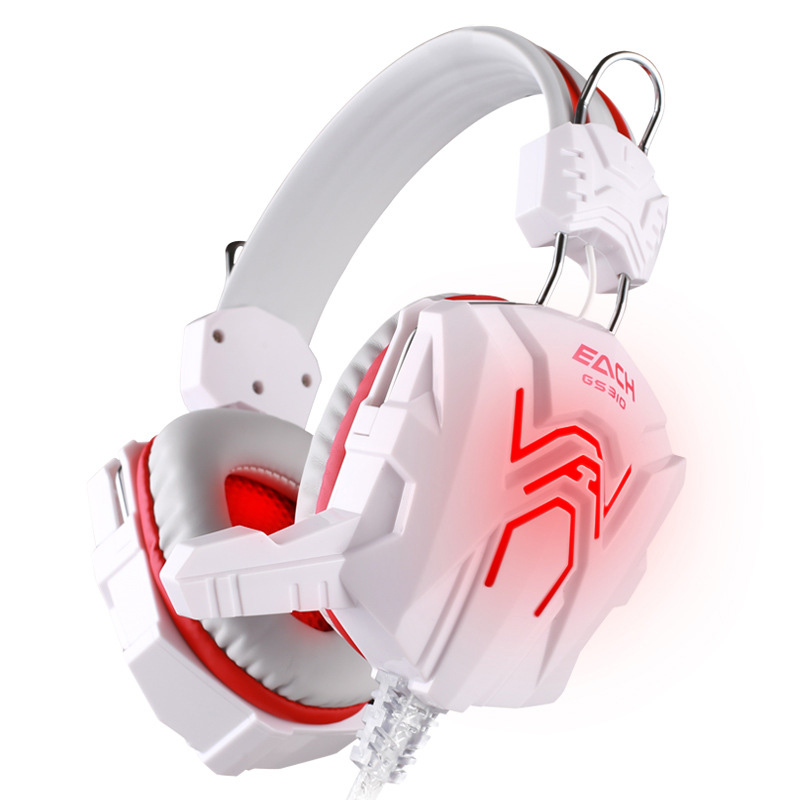 SUPOLOGY Stereo LED Gaming Headset Gamer USB Luminous  Noise Cancelling Headphones with Microphone Light for Phone Computer each g8200 gaming headphone 7 1 surround usb vibration game headset headband earphone with mic led light for fone pc gamer ps4