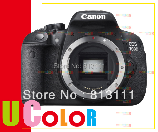 Canon Eos 700d 180 Mp Digital Slr Camera Body Only Rebel T5i