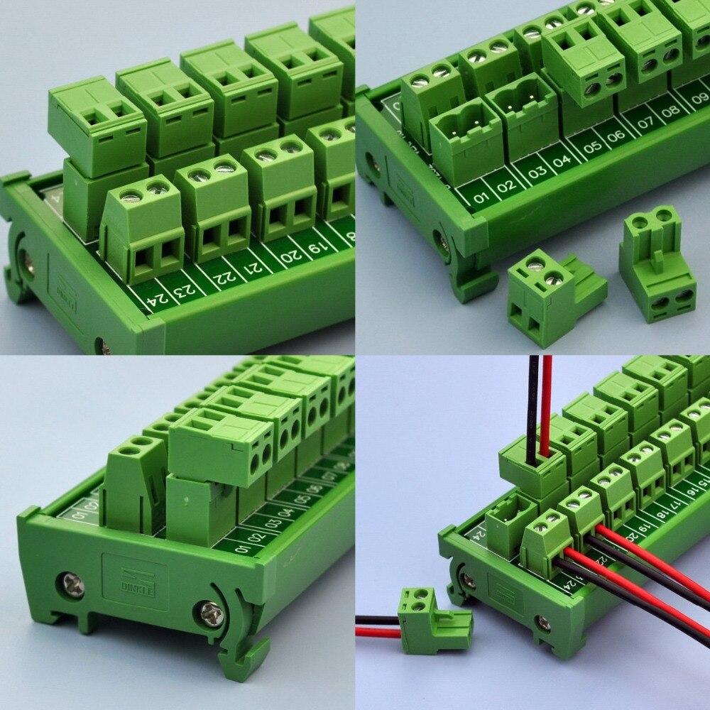 conector do fio do terminal bloco terminal x3 12 bit power 03