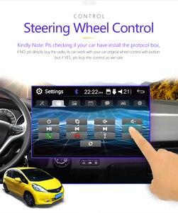 """Image 3 - 2 din Autoradio miroir lien Android 9.0 écran tactile affichage numérique 7 """"HD lecteur MP5 Bluetooth multimédia USB 2din Autoradio"""