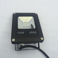 2pcs IP65 Waterproof Ultrathin Led Flood Light 10W Black Shell Garden Lamp Spotlight Reflector Project For