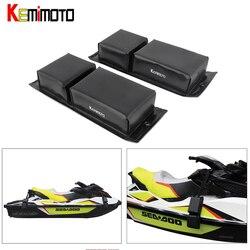 KEMiMOTO Universal Liegeplatz Stoßstange Schutz Boot Fender für Jet Ski Sea Doo für Yamaha für Suzuki Wasserfahrzeuge PWC