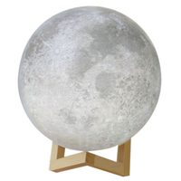 3D USB LED Magical Moon Night Light Moonlight Table Desk Moon Lamp Home Decor 20cm