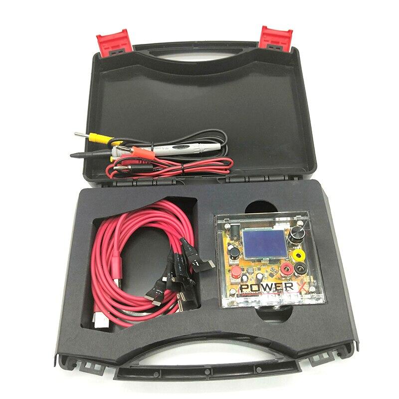IPOWER X Boîte Haute Précision DC à DC Alimentation Tension Testeur iPhone 6/7/8/8 p/X Boot Câble Mobile Téléphone Outils De Réparation