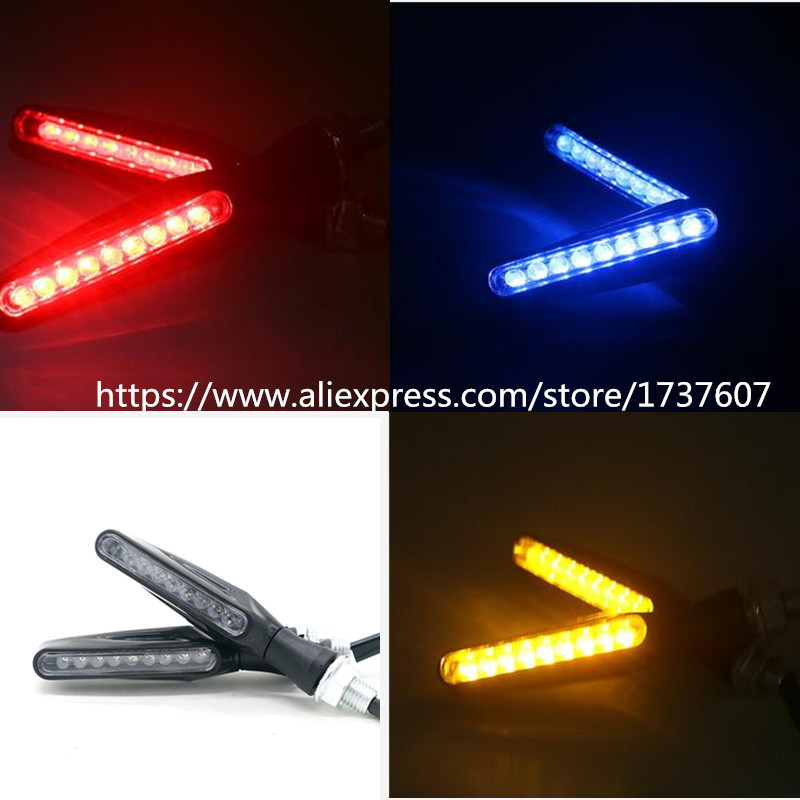 Motorcycle LED Steering Light Off-road Vehicle 12V Street Running Directional Light Modification Accessories Turn Point Turn