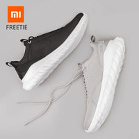Hot Original Xiaomi FREETIE 39 44 Plus Size Men Sports Shoes Light Breathable Knitting City Running Shoes Sneaker for Outdoor