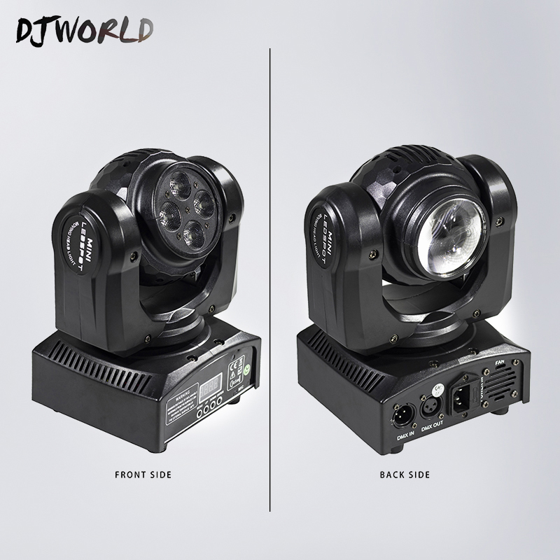 LED Wash Double Sides 4x10W+4x10W RGBW Wash Moving Head Bean Lighting DMX 512 Stage Effect Lamp For Party DJ Disco Christmas super brightness 4x10w rgbw led mini beam moving head dj light led wash disco lighting led display dmx dj equipment for party