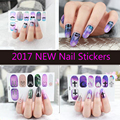 2017 NEW Fashion Nail Stickers Self adhesive nail sticker for beautiful weman free shipping