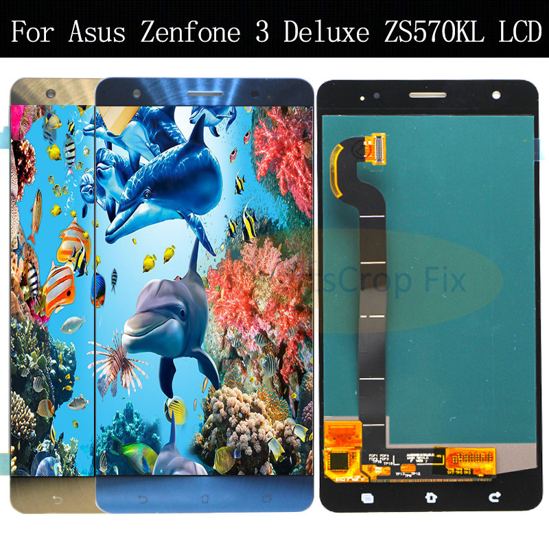 5 7 LCD For ASUS Zenfone 3 Deluxe ZS570KL Z016D Full Display Touch Screen Digitizer For