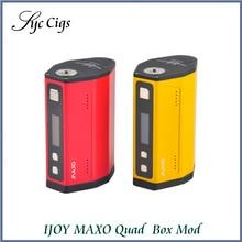 100%เดิมIJOY MAXO Quad 18650กล่องสมัย315วัตต์ขับเคลื่อนโดยQ Uadหรือสอง18650แบตเตอรี่บุหรี่อิเล็กทรอนิกส์ร่างกายMods