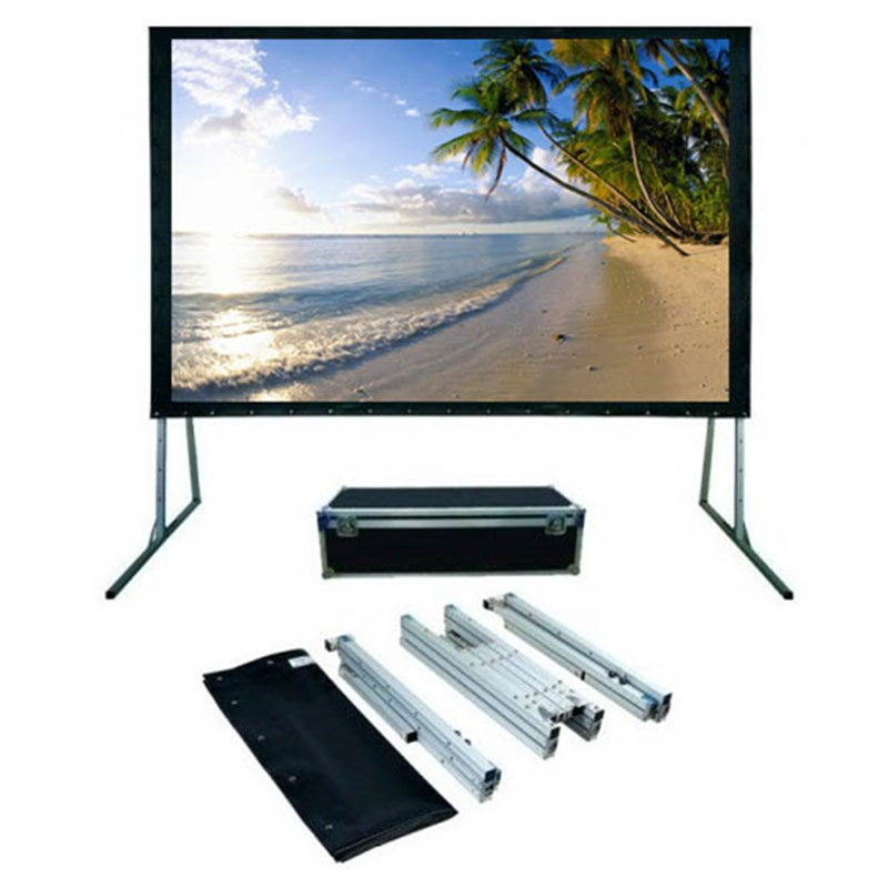 180 inch 16:9, Foldable Outdoor Portable Light Weight Front Projection Movie Screen ...