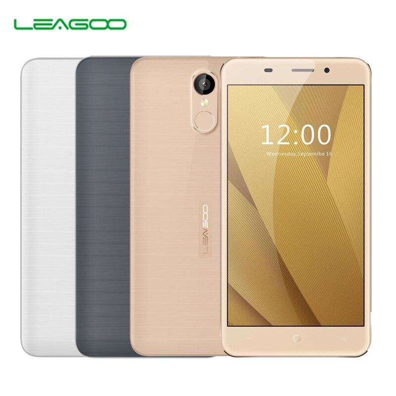 Original leagoo mt6737 m5 plus android 6.0 smartphone quad core mobile teléfono