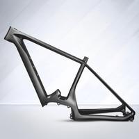 2018 NEW carbon MTB telaio della bicicletta telaio in carbonio in fibra di carbonio Elettrico ciclismo corsa frameset della bicicletta taglia Sml finitura UD LEADNOVO