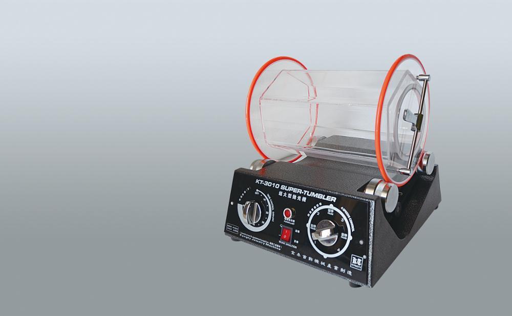 kt3010 110V Large jewelry vibratory tumbler barrel rotary tumbler gold Rotary tumbler polisher silver cleaning motor