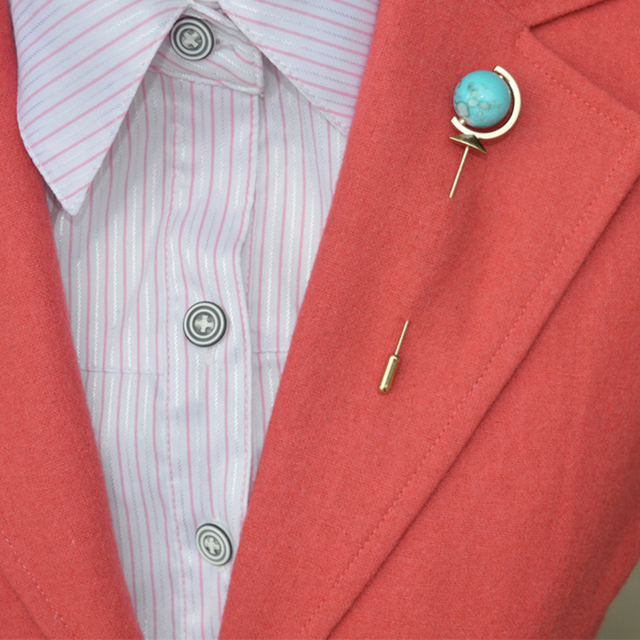 Globe Earth Lapel Stick Pin Mens Designer Lapel Brooch Pin Wedding ...