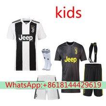 871cebbaa 2018 2019 kids juventuses soccer jersey dybala Higuain buffon football shirt  best thai quality free shipping