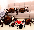funny spider plush doll, spider stuffed doll toy, children spider doll birthday gift for boys