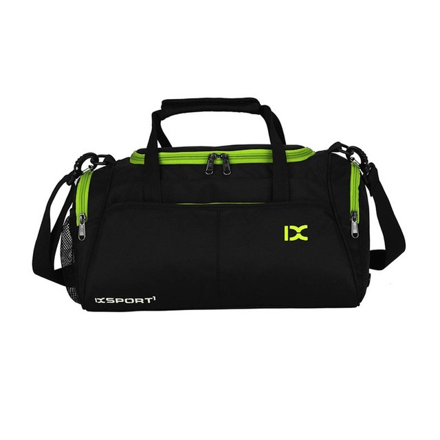 7684ae950ea7 US $18.99 28% OFF|Large Capacity Outdoor Sports Bag Traveling Luggage  Handbags Shoulder Bag Waterproof Polyester For Fitness Training Gym Yoga-in  Gym ...