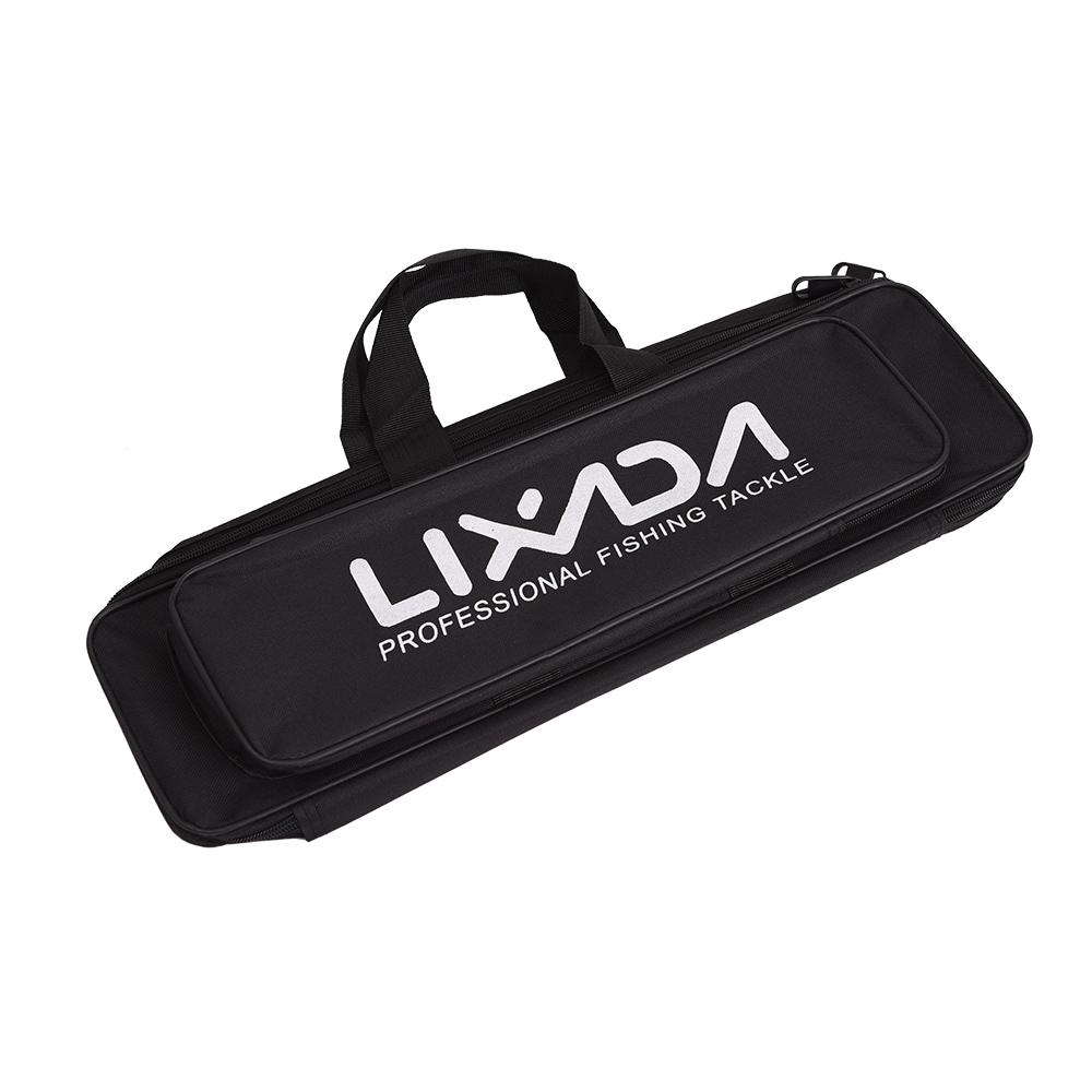 Lixada Fishing Pole Gear Tackle Storage Bag Fishing Rod And Reel Travel Carry Case Bag Portable Fishing Bag Case Organizer Low Price Security & Protection