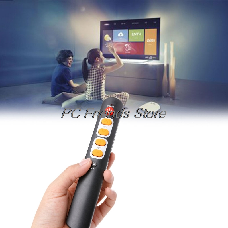 Universal Learning Remote Control 6-Key Smart Controller For TV STB DVD DVB HIFI-PC Friend