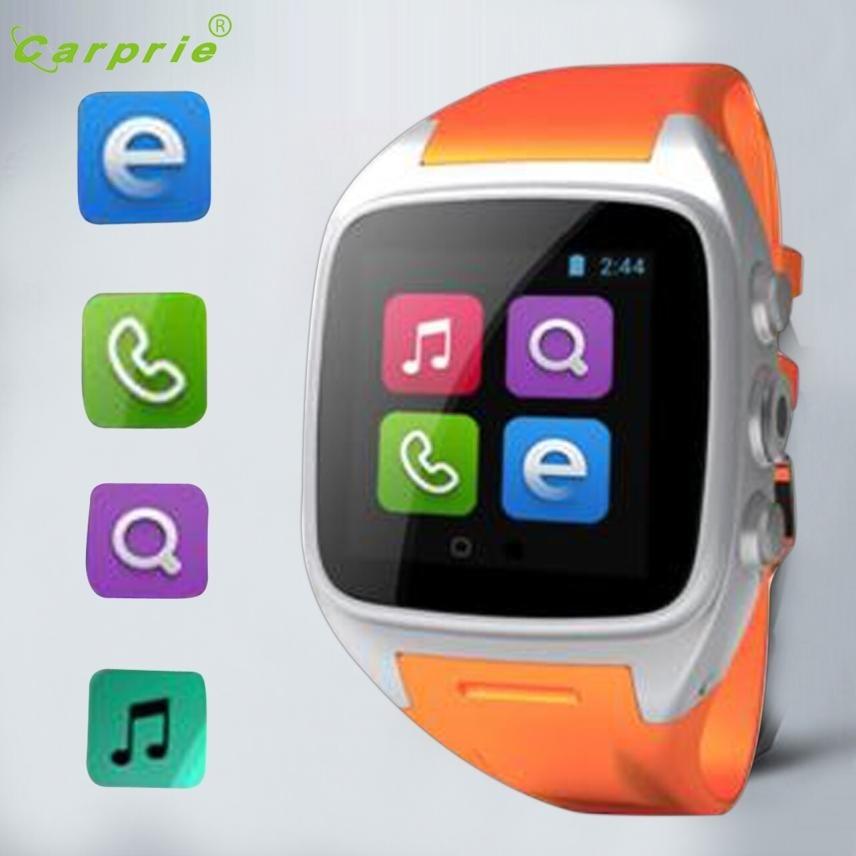 CARPRIE X01 Smart Watch Phone 3G Wifi GPS WCDMA Android SmartWatch Wristwatch Waterproof Futural Digital MAY19 smart baby watch q60s детские часы с gps голубые