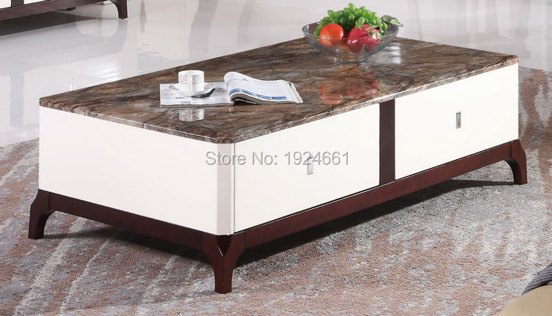Modern Coffee Table Cam Sehpalar Mesas Direct Selling Mirrored Furniture Wooden Coffee Table
