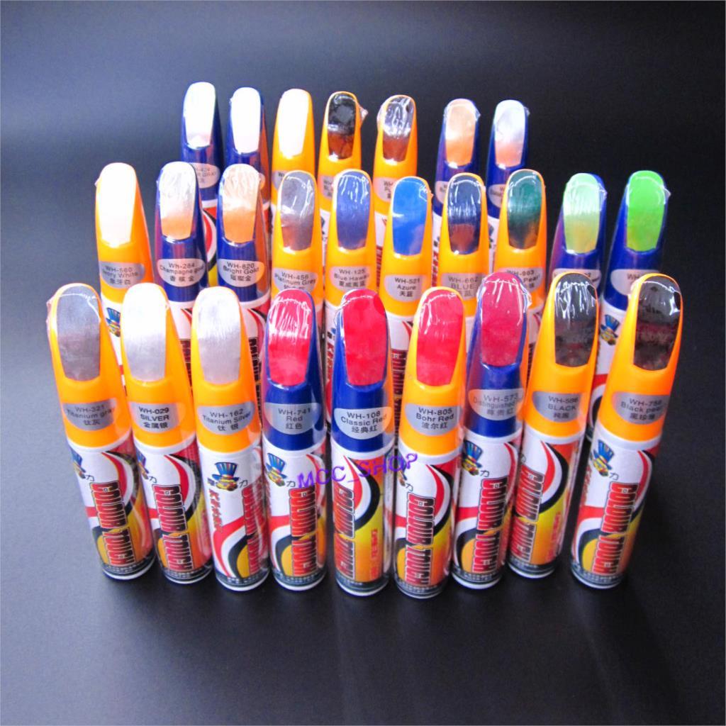 PRO Painting Pen Car Scratch Repair For Simoniz Clear Pens Packing Car Styling Car Care 63 Colors