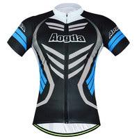 Aogda unfading wielertruien mannen armor fiets jerseys/t-shirts/shirts mountainbike clothing top 2017 zomer