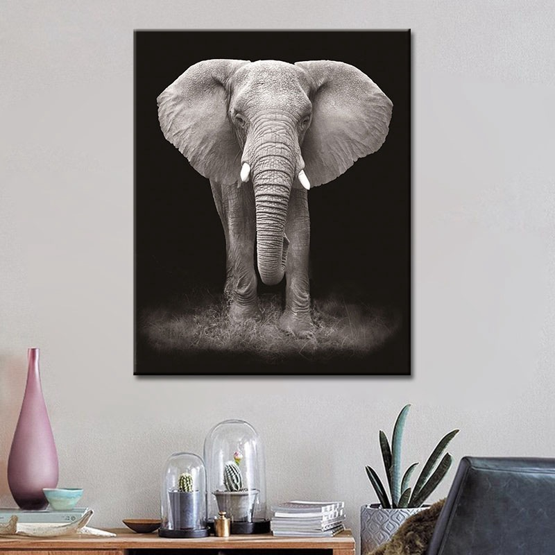Modern HD Canvas Prints Paintings Minimalist Animal