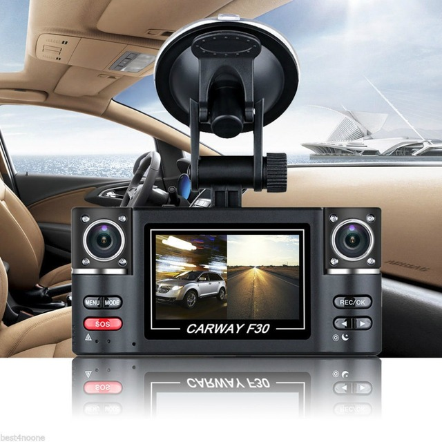 "2.7"" Car DVR Camera Vehicle Digital Video Recorder Full HD 1080P Dual Lens Vehicle DVR Camera Recorder Dash Cam Dual Cameras"