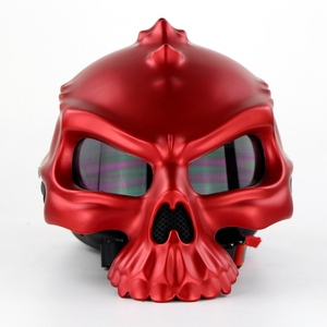 NEW Open Face Helmet Skull Mot