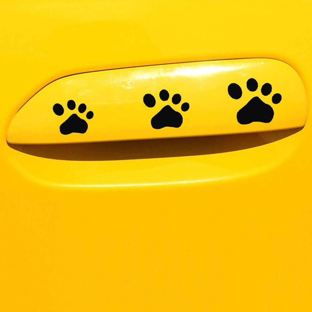 Car Sticker Hot Sale DOG PAW Puppy  Decal Sticker for Cars,Walls,Laptops, and other stuff Car Decals Decor   #PY4