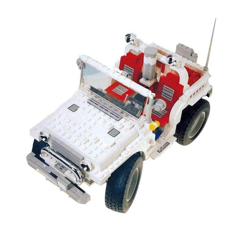 WAZ Compatible Legoe Technic Creative 5561 Lepin 21020 818pcs Big Foot Car Set building blocks Figure Bricks toys for children waz compatible legoe technic series 75913 lepin 21010 914pcs super racing car red truck building blocks bricks toys for children