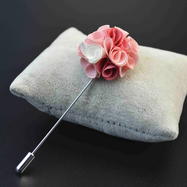 Mdiger новый цветочный лацканы Шпильки brooh мужской ручной работы цветок костюм Декор модные свадебные дружки цветочный Броши с Одна деталь