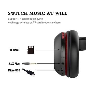 Ausdom M09 Wireless Headphones Bluetooth 4.2 Headset Foldable Deep Bass Bluetooth Headphone for iPhone Xiaomi Support TF Card