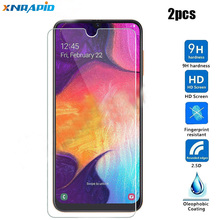 2 pcs For Samsung Galaxy A50 Tempered Glass A 50 A505F A505 SM-A505F Screen Protector Protective Film