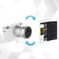 YI M1 Mirrorless Digital Camera Prime Zoom LCD 2 Lens Minimalist BLE WIFI RAW 20MP Video Recorder International Version White 3