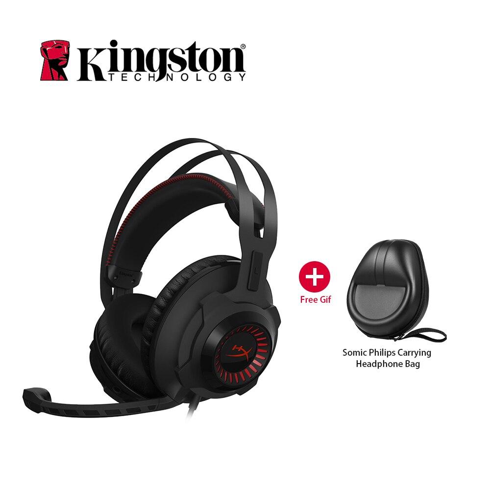 Kingston HyperX Nube Revolver Sportive Professionali Gaming Headset Musica Cuffia Con Microfono per PC LOL Auricolari DJ Auricolare