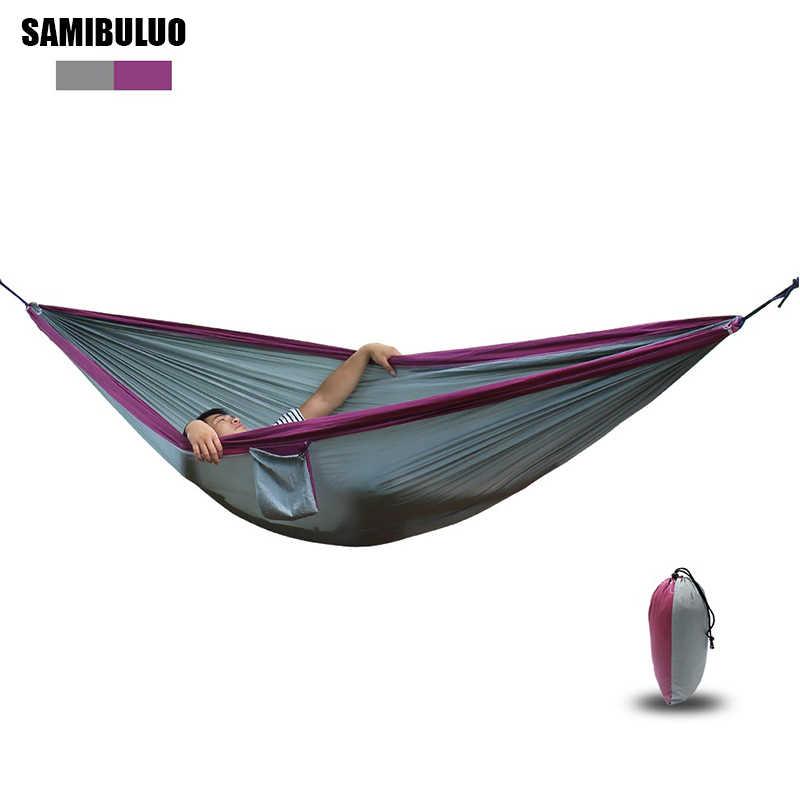 Парашют для игр на свежем воздухе гамак подвесная кровать Большой Гамак Размеры 300*200 см