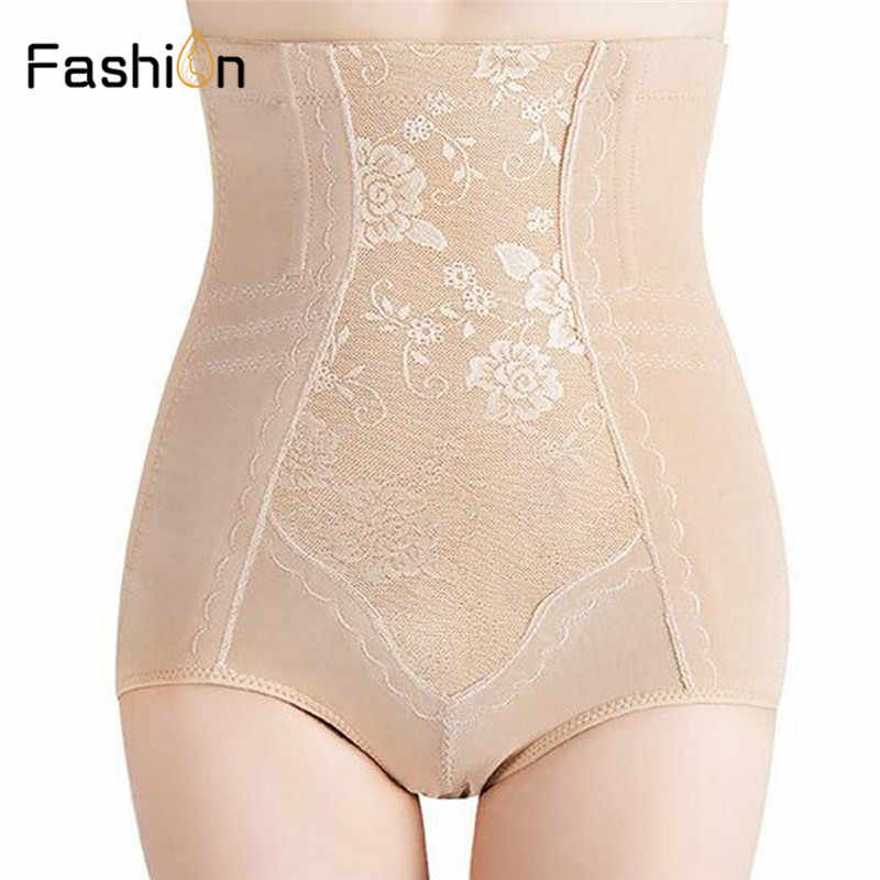 6791790148 Women High Waist Shapewear Shorts Body Shaper Tummy Control Briefs Pants  Woman Cotton Body Slim Hot