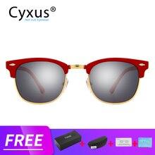 Cyxus gafas de sol polarizadas para niños y niñas, lentes con correa, 1656
