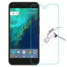 قسط الزجاج المقسى لجوجل بكسل 2 3 3A 4 4A 5 جرام 5 XL لايت 1 Pixel2 Pixel3 Pixel3Lite HTC حامي الشاشة فيلم واقية