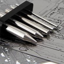 3D δάχτυλα μέταλλο εργαλείων συναρμολόγησης παζλ που χρησιμοποιούνται για τα ρολά των μοντέλων από ανοξείδωτο χάλυβα ραβδιά κυκλική στήλη πολλαπλών εργαλείων