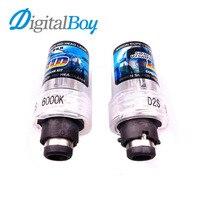 Gelunbu 2 Pcs D2S Xenon Bulb 12V 55W Replacement HID Xenon Lamp Car Fog Light 6000k
