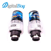 Gelunbu 2 Pcs D2S Xenon Bulb 12V 55W Replacement HID Xenon Lamp Car Fog Light 6000k