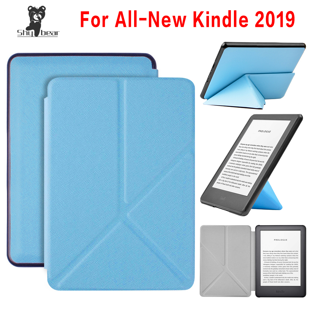 For Kindle 10th Generation 2019 Cover Case , For New Kindle J9G29R Origami E-reader Slim Funda Capa