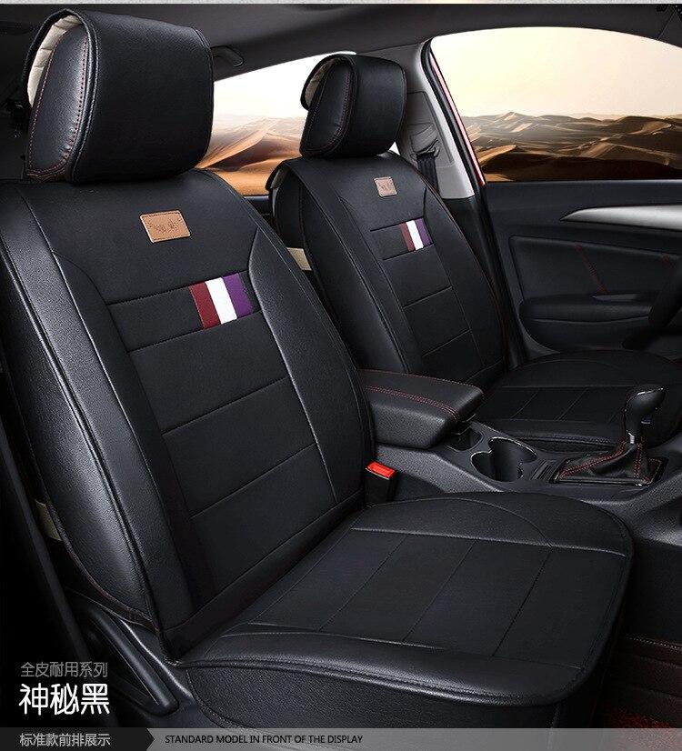 Almofadas do assento de carro tampas de assento de couro pu mats pads para Chevrolet Blazer SPARK SAIL cruze EPICA AVEO LOVA Optra 560 610 630 730